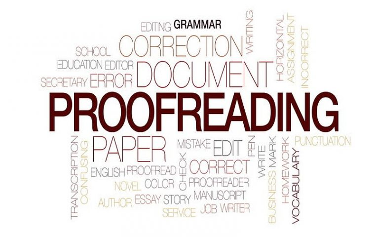 English Proofreading